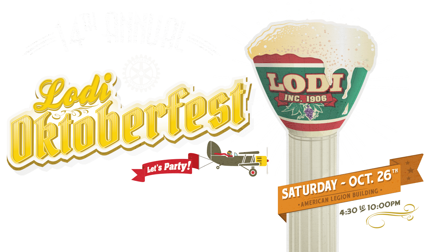 12th Annual Lodi Oktoberfest - October 28th